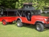 1956 Willys CJ-6 with Bantam Trailer
