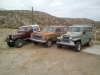 1960 Willys Station Wagon, 1979 Cherokee, and a 1979 CJ-7