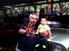 Juan Lopez Badillo with Grandson