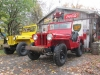 1949 CJ-3A and 1946 Willys CJ-2A