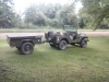 1955 M38A1 / CJ-5 and M416 Trailer