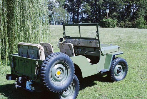 1946 CJ-2A - John Wood, Kaiser Willys Jeep Blog Album