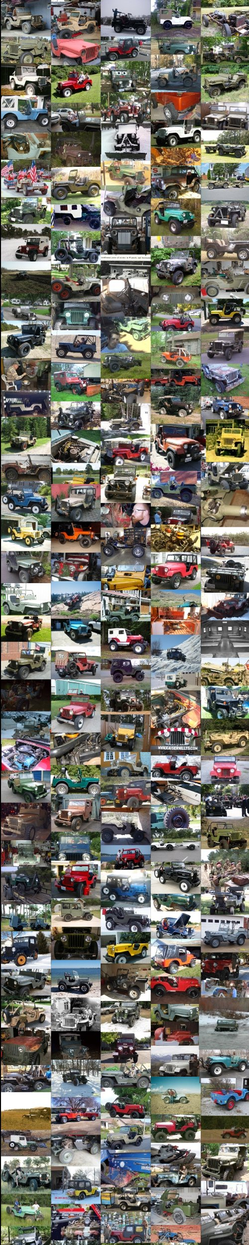 Kaiser Willys Jeep Family Photo Album