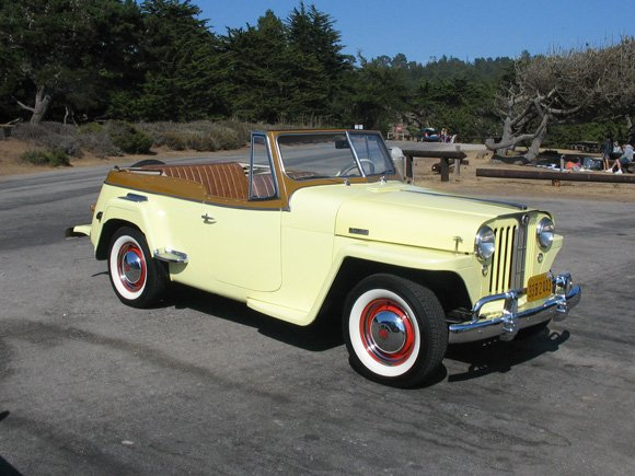 Don Koepp's 1949 Willys Jeepster