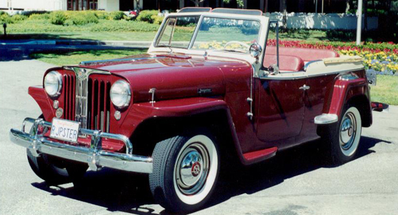 Jim Rogers 1949 Willys Jeepster