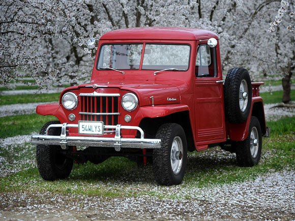 Dennie Farris' 1954 Willys Truck