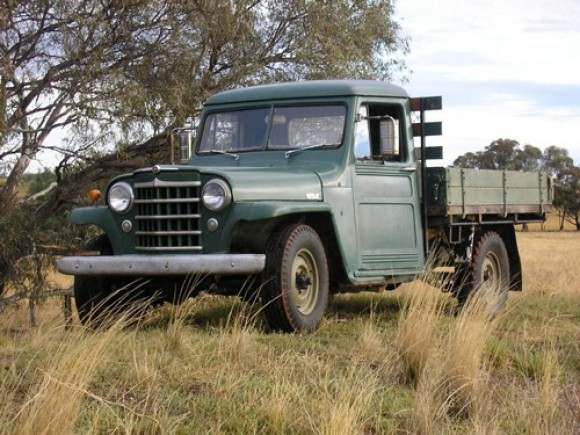 Mick Broomfield's 1951 Willys Truck
