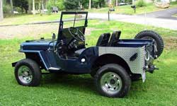Willys Jeep CJ2A - Albert Urzen