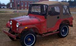 Willys CJ5 - Marvin Haffner