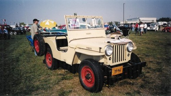Joyce Vopni's 1946 Willys CJ-2A