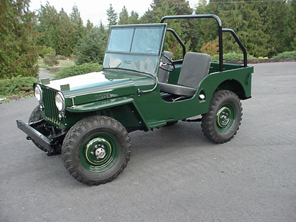 Bill Preston's 1948 CJ-2A