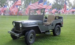 Jim and Mary Wortmann-Willys 1948 CJ-2A