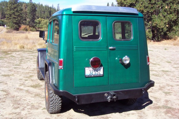 Ben Neil's 1955 Willys Utility Wagon