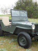 Terry Traxler's 1947 Willys CJ-2A
