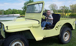 Garret Fish - 1946 Willys CJ-2A