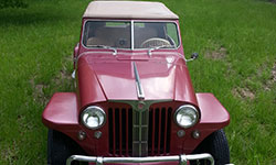 Kevin Bowman 1948 Willys Jeepster