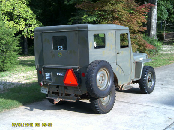 Tom Sullivan's 1950 Willys CJ-3A