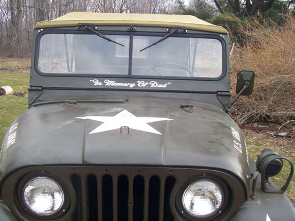 Bruce Golden's 1955 Willys M38A1