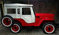 Gustavo Bernal Camacho's Willys CJ-3B