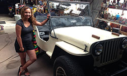 Irie Charity's 1945 Willys CJ-2A