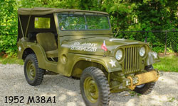 Mike Delaney's 1952 Willys M38A1