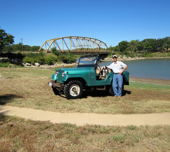 Larry Hammers' 1962 Willys CJ-5