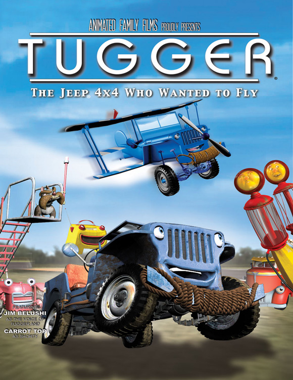 Tugger the Jeep 4x4 who wanted to fly
