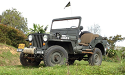 Alvaro Landinez' 1948 Willys CJ-2A