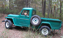 Dave Neubert's 1957 Willys Truck