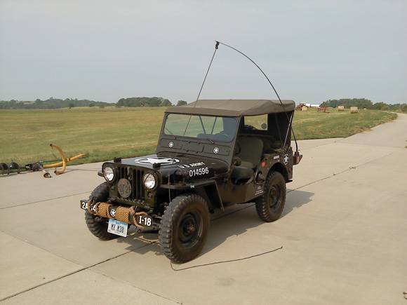 William Bump's 1951 Willys M38