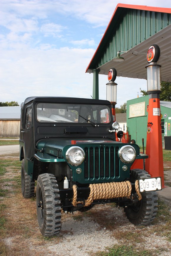 Andrew Adams' 1953 Willys CJ-3A