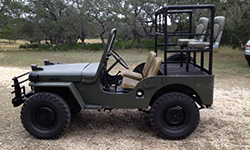 Kevin Finger - 1948 Willys CJ-2A