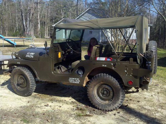 William Freeman's 1954 Willys M38A1