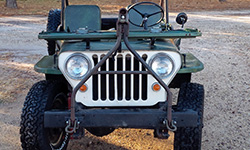 Ron Eubanks - 1946 Willys CJ-2A