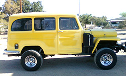Russ Miller - 1956 Willys Station Wagon