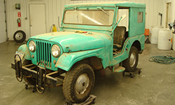 Steve Kofron - 1961 Willys CJ-5