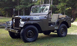 William Freeman - 1954 Willys M38A1