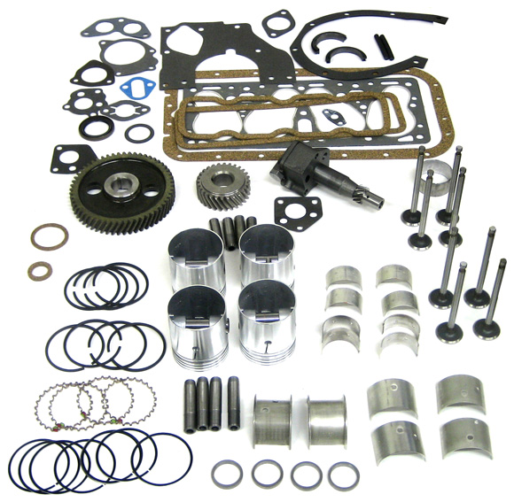 134F Head Kit - Image, Complete Engine Overhaul Kit