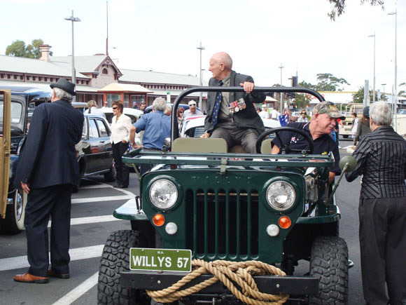 Mike Butcher's 1957 Willys CJ-3B