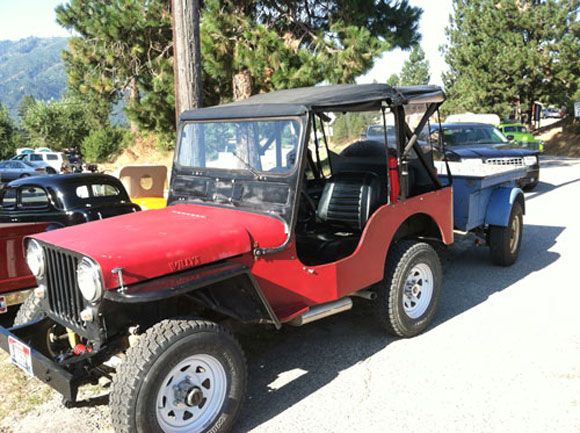 Mike McLain's 1946 Willys CJ-2A