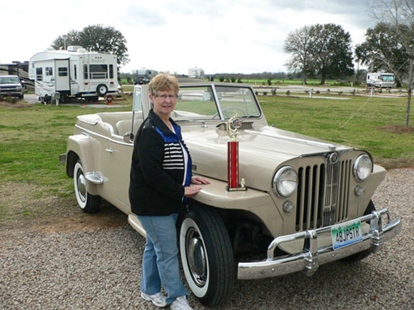 Eugene Plite's 1948 Willys Jeepster