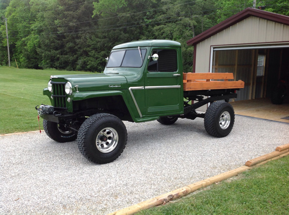 Tommy Jones' 1959 Willys Truck