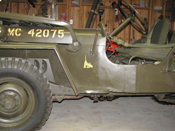 Steve McGale's Willys M38