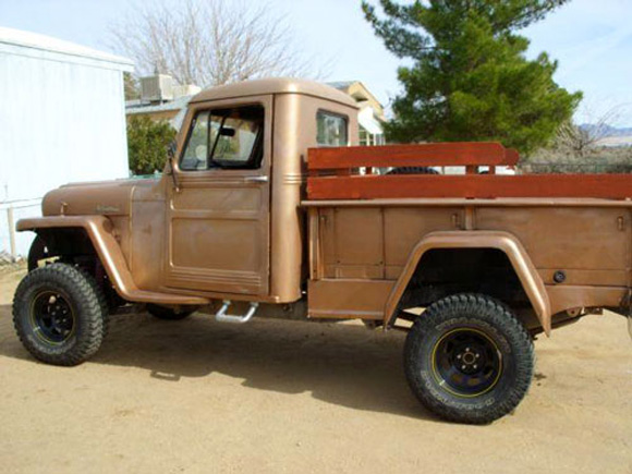 Terry Moor's 1950 Willys Truck