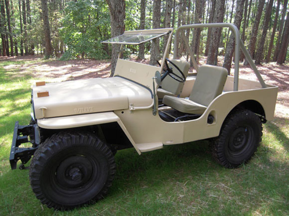 David Holder's 1948 Willys CJ-2A