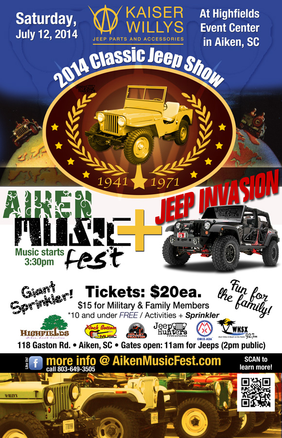 Kaiser Willys Classic Jeep Show on July 12, 2014