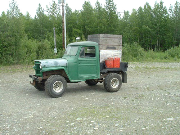 Terry Moor's 1955 Willys Truck