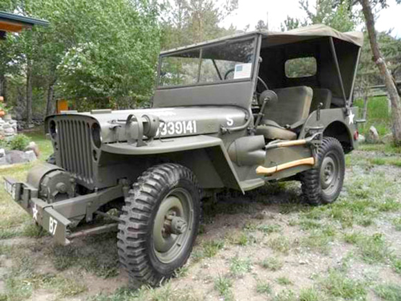 Mike Boise's 1948 Willys CJ-2A