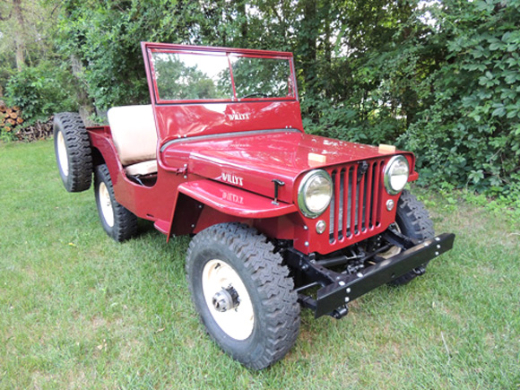 Rob and Beth Theriot's 1947 Willys CJ-2A