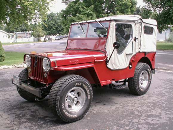 Robert Cole's 1948 Willys CJ-2A